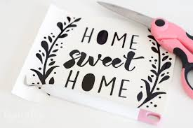 cricut project inspiration using vinyl typically simple
