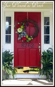 front door designs stolen red colors brick house ideas for