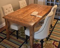 Harvest Kitchen Table by 96 Farmhouse Table Solid Wood Farmhouse Dining Table