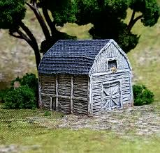 new 6mm gambrel barn the wargames website