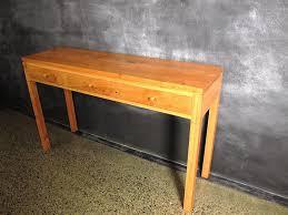 Hallway Table Hallway Table Hallway Furniture Copper Mirror Over Steel And Oak
