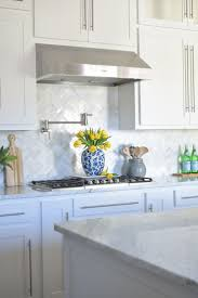 inspiring white ceramic tiles kitchen backsplash ideas with