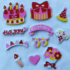 aliexpress com buy 60pcs 1bag lot birthday foam stickers kids