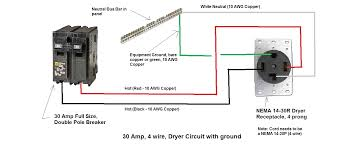 dryer plug wiring diagram carlplant