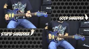 Shredding Meme - stupid shredder vs good shredder youtube