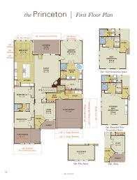 princeton home plan by gehan homes in the commons at rowe lane