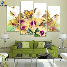 Decorative Paintings For Home hand painted butterflies promotion shop for promotional hand