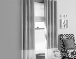 curtains intrigue beige and grey striped curtains endearing