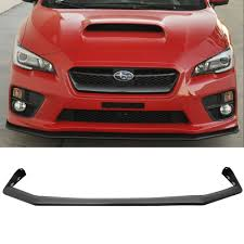 exterior usa vs jdm different front grille subaru impreza amazon com front bumper lip fits 2015 2017 subaru wrx sti v