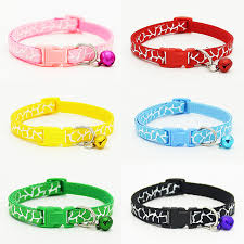 6 colors new arrival fashion small collars with bells