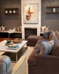 How To Decorate Family Room Family Room Tropical With Grey Wall - Interior design family room