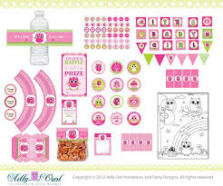 baby shower kits 101 best imprimibles baby shower niña images on baby
