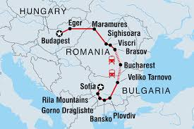 European Exploration Map Romania Tours U0026 Travel Intrepid Travel Us