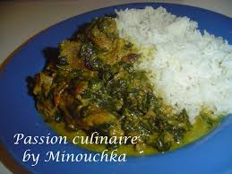 cuisiner epinard curry d agneau aux épinards ou ghost palak