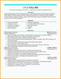 Example Resume For Maintenance Technician by Maintenance Supervisor Sample Resume Qualifications Discouraged Tk