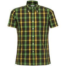 Gingham Vs Plaid Vs Tartan Brutus Clothing Online Trimfit Sky Blue Gingham Shirt