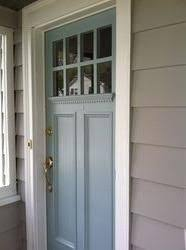 Exterior House Door Wythe Blue Exterior Front Door Color Clean And Bright