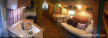 5th Wheel Living Room Up Front by Rv Living A Look Inside The 5th Wheel Adventure Monkey