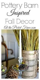 Pottery Barn Fall Decor - pottery barn inspired fall decor at the picket fence