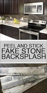 kitchen backsplash how to faux kitchen backsplash how to nest for less
