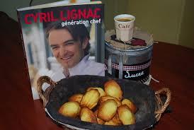 cuisine cyril lignac madeleines de cyril lignac chérie qu est ce qu on mange ce soir