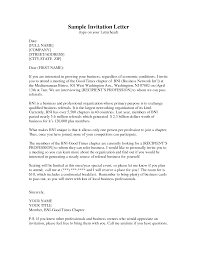 party invitation letter cimvitation invitation letter to chief