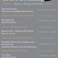 saturday sweat britt u0027s bootcamp biceps u0026 back workout britt u0027s
