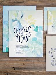 watercolor wedding invitations wedding invitations watercolor 19 totally gorgeous watercolor