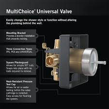 How To Replace A Delta Shower Faucet Delta R10000 Unwshf Multichoice Universal Shower Only Valve Body