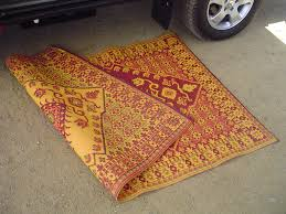 Recycled Outdoor Rugs Recycled Outdoor Mats Turkish Pattern 4x6 Gowesty