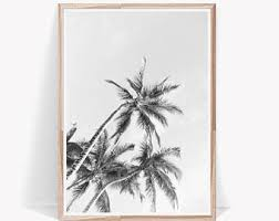 palm tree print etsy