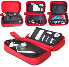 amazon com travel cord organizer electronics accessories case