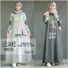 Grosir Baju Muslim grosir baju muslim murah lilia dress grosir baju muslim pakaian