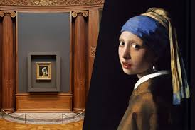 pearl earring painting crowds clamor to get a glimpse of vermeer s girl with a pearl