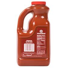sriracha bottle back kikkoman 5 lb sriracha chili sauce