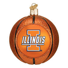 illinois basketball ornament ornaments