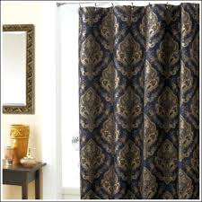 Brown Gold Curtains Blue And Gold Curtains Bikepool Co