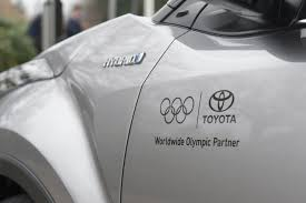 international toyota toyota delivers hybrid mobility to the international olympic