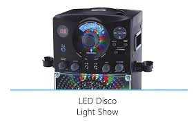 singing machine with disco lights sml385bt disco lights karaoke singing machine