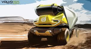 volvo dump truck volvo future truck on behance future construction vehicles