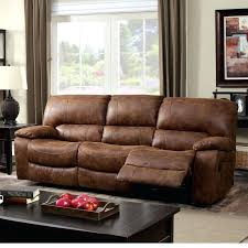 faux leather reclining sofa sectional rustic brown leather sectional rustic brown leather