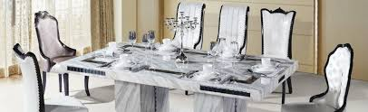 White Marble Dining Tables White Marble Dining Table Brabbu Design Forces