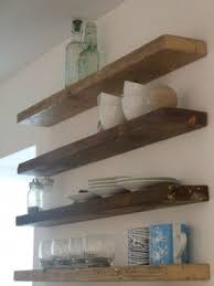 Thick Wood Floating Shelves by Mahogany Floating Shelves Foter