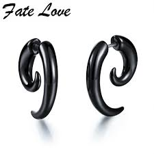 earrings for men black acrylic earrings for men stainless steel stud earrings