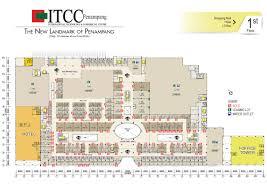 floor plans itcc penampang