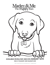 marley u0026 me the puppy years u2013 free activity sheets five dollar