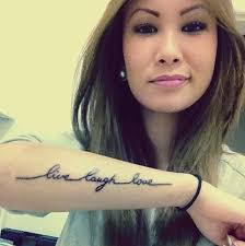 tattoos live laugh love fresh ink on we heart it