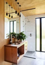 Bathroom Storage Ideas For Small Spaces Creative Bathroom Storage Ideas High Minimalist Stained Wood Rack