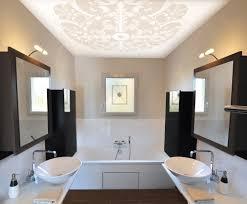 Schlafzimmer Und Bad In Einem Raum 1a Spanndecke De Bildergalerie U003e Badezimmer