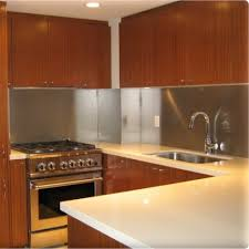 Metal Backsplash Panels  Custom Metal Home - Custom stainless steel backsplash